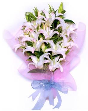 5 dal kazablankadan muhteşem buket  Bayburt hediye çiçek yolla