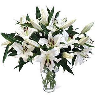 Bayburt çiçekçi telefonları  3 dal görsel casablanca vazo tanzimi
