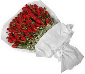 Bayburt İnternetten çiçek siparişi  51 adet kırmızı gül buket çiçeği