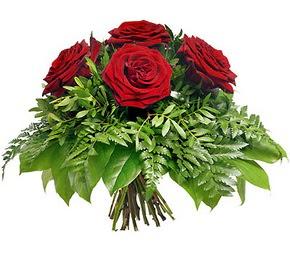 Bayburt çiçek mağazası , çiçekçi adresleri  5 adet kırmızı gülden buket