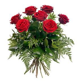 Bayburt online çiçek gönderme sipariş  7 adet kırmızı gülden buket