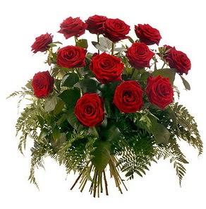 Bayburt internetten çiçek satışı  15 adet kırmızı gülden buket