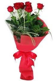 Çiçek yolla sitesinden 7 adet kırmızı gül  Bayburt internetten çiçek satışı