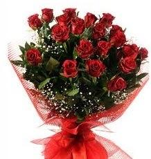 İlginç Hediye 21 Adet kırmızı gül  Bayburt internetten çiçek siparişi