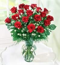 Bayburt internetten çiçek satışı  9 adet mika yada vazoda kirmizi güller