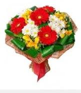 1 demet karışık buket  Bayburt hediye sevgilime hediye çiçek