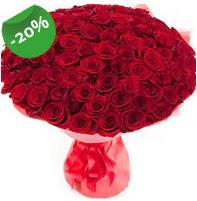 Özel mi Özel buket 101 adet kırmızı gül  Bayburt anneler günü çiçek yolla