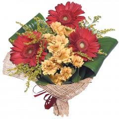 karışık mevsim buketi  Bayburt çiçekçi mağazası