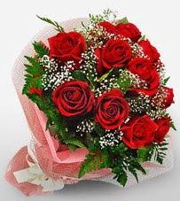 12 adet kırmızı güllerden kaliteli gül  Bayburt çiçek siparişi vermek