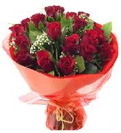 12 adet görsel bir buket tanzimi  Bayburt çiçek siparişi vermek