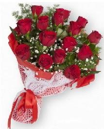 11 kırmızı gülden buket  Bayburt güvenli kaliteli hızlı çiçek