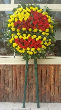 Cenaze çelengi çiçek modeli  Bayburt çiçek mağazası , çiçekçi adresleri