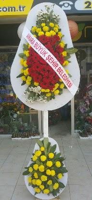 Çift katlı düğün nikah açılış çiçek modeli  Bayburt çiçekçi mağazası