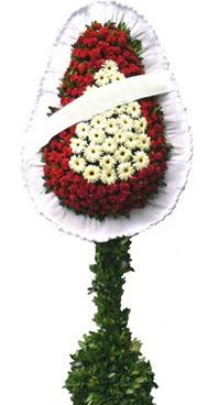 Çift katlı düğün nikah açılış çiçek modeli  Bayburt İnternetten çiçek siparişi