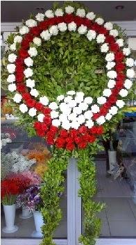 Cenaze çelenk çiçeği modeli  Bayburt anneler günü çiçek yolla