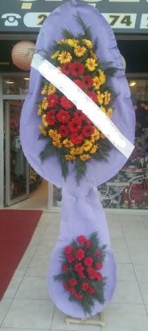 Çift katlı nikah düğüne çiçek modeli  Bayburt internetten çiçek siparişi