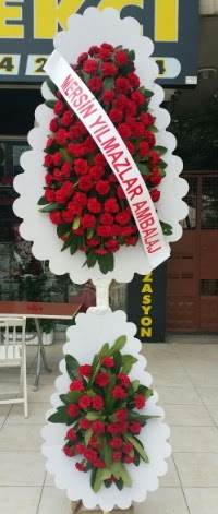 Çift katlı düğün nikah çiçeği modeli  Bayburt hediye çiçek yolla