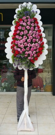 Tekli düğün nikah açılış çiçek modeli  Bayburt çiçek satışı