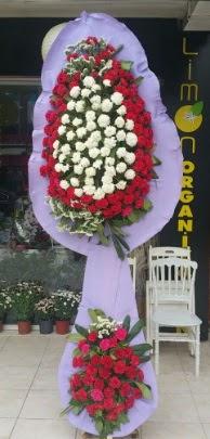 Çift katlı işyeri açılış çiçek modeli  Bayburt ucuz çiçek gönder