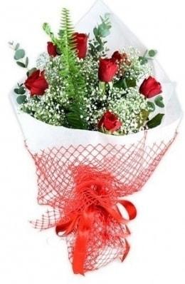 7 adet gülden kız arkadaşıma çiçek  Bayburt çiçekçi telefonları