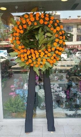 Cenaze çiçeği cenaze çelengi çiçek modeli  Bayburt çiçek gönderme