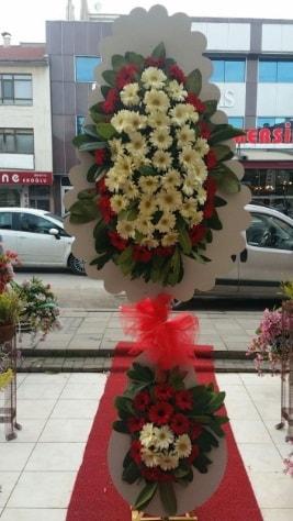 Çift katlı düğün açılış çiçeği  Bayburt çiçek satışı