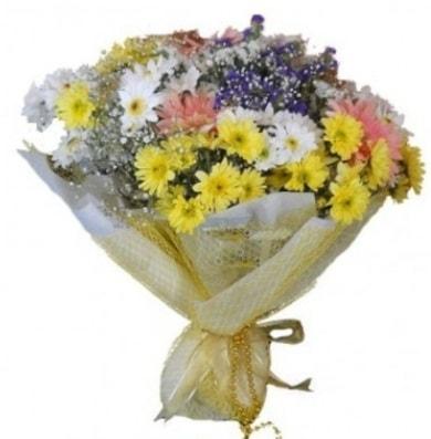 Karışık mevsim çiçeği  Bayburt çiçek satışı